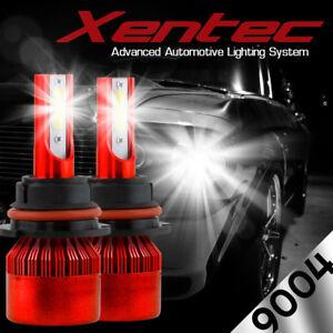 XENTEC LED HID Headlight Conversion kit 9004 HB1 6000K for 1987-1993 Saab 900