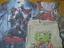 Nuevo paquete de 3 xmarvel Comics para hombre T-Shirt Tee Talla M o chicos 13/14/15 años