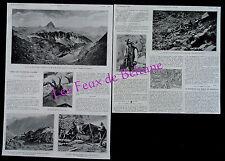 Document photo Chasse Isards Pyrenees Artouste  1921