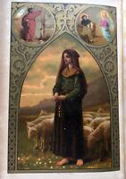 1893BERNADETTE APPARIT°MIRACLE+JOLIS GRAVURES+LIVRE D'HEURES RELIGION BIBLE BOOK