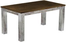 Esstisch Esszimmer Massivholz Tisch 150x90cm Pinie massiv,Farbton Shabby Eiche