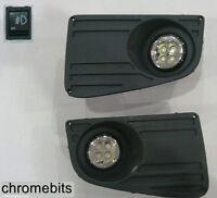 LED FOG DRL DAYTIME RUNNING LIGHTS LAMPS GRILLE SET FOR VW CRAFTER 2006- NEW