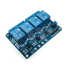4 Channel DC 12V Relay Module with Optocoupler for Arduino UNO R3 MEGA 2560 1280