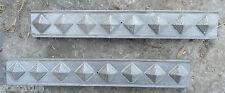 Trim molds set of 2 plastic molds cement casting craft mould molds