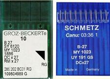 AGHI B27 per MACCHINA da per CUCIRE 10pz N.70 tagliacuci TESSUTO my 1023 dcx27