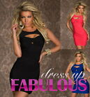 SEXY Sz 8 S WOMEN'S MINI DRESS PARTY EVENING FORMAL CLUB GOING OUT WEAR CLOTHING