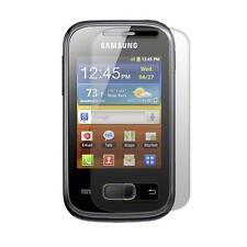 Samsung S5300 Galaxy Pocket - 1x film de protection semi rigide + chiffon doux