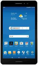 """INBOX PREOWNED ZTE Trek 2 HD K88 Wi-Fi GSM ATT Unlocked 16GGB 8"""" Tablet Gray"""