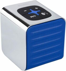 Ninetec Sound Cube, Bluetooth-Lautsprecher, BLAU, neu, ovp