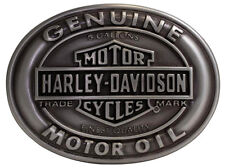 Harley Davidson Mens Genuine Motor Oil Trademark B&S Buckle