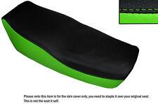 LIGHT GREEN & BLACK CUSTOM FITS KAWASAKI Z 550 F 81-85 DUAL SEAT COVER