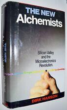 1982 THE NEW ALCHEMISTS Steve Jobs Wozniak hc/dj Early Silicon Valley History