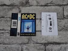 AC/DC Album Rock Music Cassettes