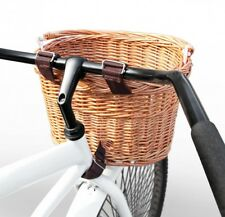 Shopping Basket City And Mountain Bike Hanging Wicker Outdoor Snack Small Basket