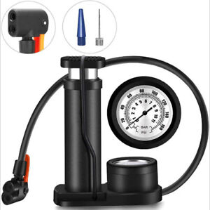 Portable Air Foot Pump Kit for Summer Inflatable Pool Floating Bike Bicycle Tire