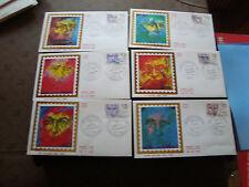 FRANCE -  6 enveloppes 1er jour 23/2//1985 (personnages celebres) (cy47) french
