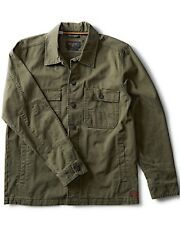 Billabong Surfplus Collins Shirt Jacket Men's Core Fit Military NEW NWT Medium