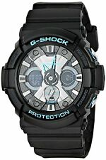 Casio Men's GA-201BA-1ACR G Shock Analog-Digital Display Quartz Black Watch