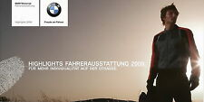 PROSPEKT BMW conducente dotazione highlights 2009 FOLDER MOTORCYCLE Clothes
