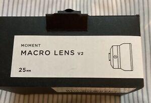 Moment V2 Macro Lens 25mm 10x Diffuser Box