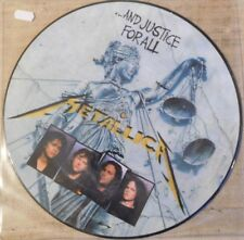 Metallica ‎– ...And Justice For All - LP picture disc promo made in USA rarooo