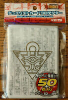 YuGiOh Card Sleeves Millennium Puzzle 50Pcs 63X90mm WHITE NEW FAST FREE SHIPPING
