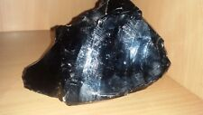 Huge Heavy Beautiful Piece of Obsidian Stone  Natural Mineral Raw