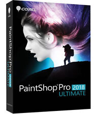 Corel PaintShop Pro 2018 Ultimate - 3 PCs, New Retail Box plus Download