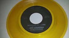 """JEFF LAWRENCE Michigan My Home AIR-LOOM 3025 YELLOW COLORED VINYL 45 7"""""""