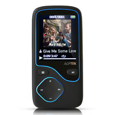 Agptek 8GB Wireless Bluetooth FM Radio MP3 Lossless Portable Music Player