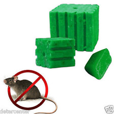 Esca topi e ratti in blocchi paraffinati con Difenacoum e Bitrex cartone kg.10