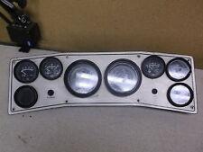 Vintage Teleflex Boat Marine Instrument Panel Dash Gauge Cluster *FREE SHIPPING*