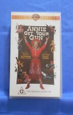 Annie Get Your Gun VHS Special Edition Rated G 1950 Western/Musical Ex Condition