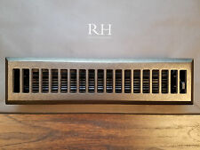 RESTORATION HARDWARE RH MADERA MODERNE VENT REGISTER COVER GRILL BRONZE 2.5x12