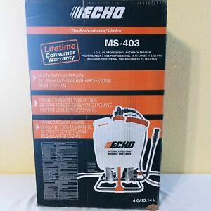 Echo MS-403 4 Gallon Internal Piston Pump Professional Back Pack Sprayer