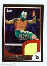 "2016 TOPPS WWE WRESTLEMANIA BLACK BORDER SIN CARA ""SHIRT RELIC"" #074/350"