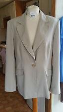 New Ladies Lady Cream Blazer Jacket Sz 16 L by Wallis
