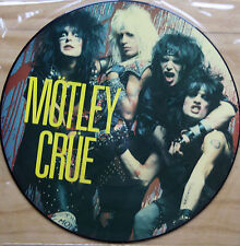 "Rare! 1984 MOTLEY CRUE LOOKS THAT KILL 12"" VINYL Picture Pic Disc (SAM 213)"