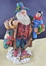 Galleria Lucchese Roman Santa with large doll 1810 reintroduced 1993   - FREE SH