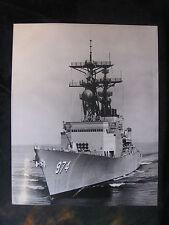 Vintage US Navy 8 x 10 Press Photo USS Comite De Grasse DD-974 Norfolk VA 936