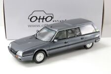 1:18 Otto Citroen cx25 TRD Turbo 2 meteor grey 1991 NEW chez Premium-modelcars
