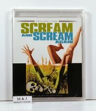 SCREAM AND SCREAM AGAIN (1970) Twilight Time Blu Ray ~ Vincent Price ~ BRAND NEW