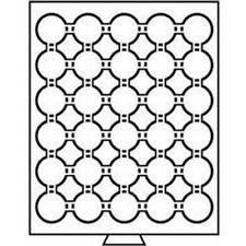 Leuchtturm Münzbox 30 Fächer für CAPS 33, grau