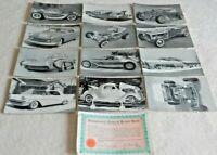 12 Rod & Custom Car Magazine Exhibit Vending Machine Cards
