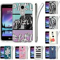 Thin Gel Design Protective Phone Case Cover for LG X210 3 Plus,TAC Graphic Print