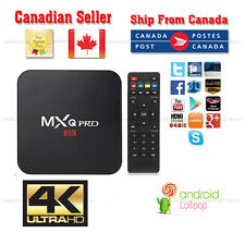unlocked Quad Core Android 6 Smart TV BOX S905 Media Player 1080P 4K pro