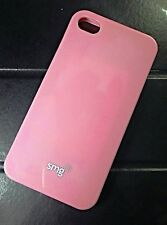 CUSTODIA PER IPHONE 4 4S SILICONE TPU MORBIDA ROSA PINK CASE IPHONE4-4S