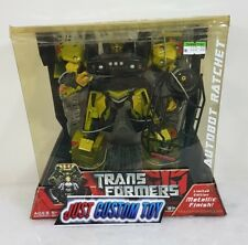 Transformers 2007 Movie Voyager Limited Edition Metallic Finish Ratchet (MISB)