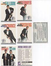 1991 Arena American Hockey Draft Pick Set Premiere Edition 33 Card Set + 20 Card