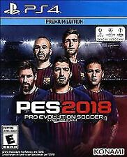 Pro Evolution Soccer 2018 RE-SEALED Sony PlayStation 4 PS PS4 GAME 2K18 18 PES